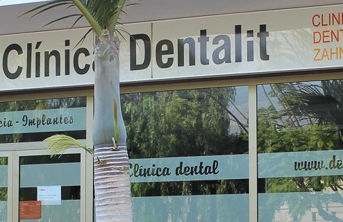 Clínica Dental Dentalit Fachada
